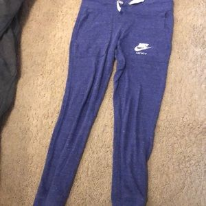 Nike joggers in blue